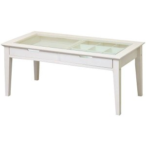 【市場】INT-2576WHine reno Table-アイネテーブル LivingItem (W900×D450×H400mm)【送料無料】【smtb-TK】