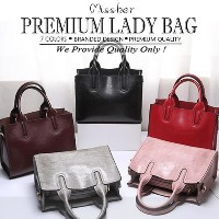 【FREE QXPRESS】PREMIUM QUALITY Lady Bag / Tote Bag / Sling Bag / 2 Way Shoulder Bag  LB-CG07