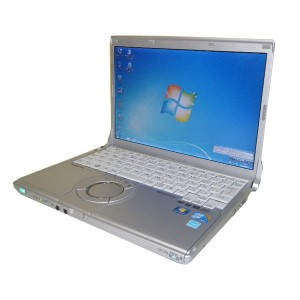 Windows7 Panasonic Let'sNote CF-S9Core i5-560M 2.66GHz/2GB/250GB/マルチWPS Office付き(旧KINGSOFT Office)...