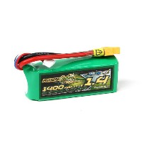 no2 MultiStar 11.1V 1400mAh 65C130C リポ