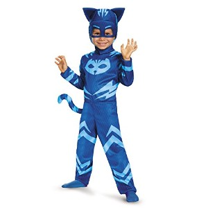 Disguise Catboy Classic Toddler PJ Masks Costume, Medium/3T-4T by Disguise