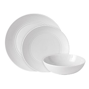 Gordon Ramsay Maze by Royal Doulton 12-Piece Tableware Set, White by Royal Doulton