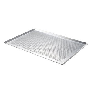 De Buyer Micro-perforated Plate Pastry - Uncoated Aluminium, Silver by De Buyer