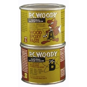 Protective Coating 083338 PC Woody Wood Epoxy Paste by Protective Coating
