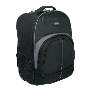 Targus ターガス 16インチ Compact Rolling Backpack (Black/Grey) TSB750AP