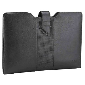 Targus ターガス 13インチ Luxury Leather Sleeve for Ultrabook Black TES606AP