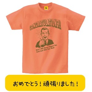 Congraturations Nice TEE おもしろtシャツ 誕生日プレゼント 女性 男性 女友達 おもしろ Tシャツ プレゼント ギフト GIFTEE 【新デザイン】
