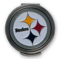 McArthur Sports NFL Steelers Hat Clip and Ball Markers【ゴルフ その他のアクセサリー>ディボットツール】