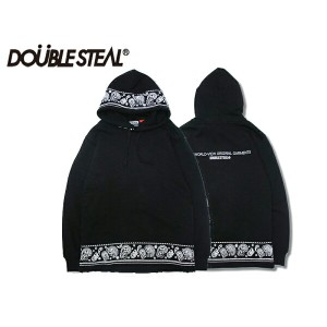 DOUBLE STEAL DOUBLESTEAL ダブルスティール Paisley LINE Parker 965-67210 ペイズリーパーカー プルパーカー プルオーバーOLLIE...