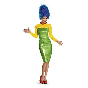 The Simpsons: Marge Deluxe Adult Costume シンプソンズ:マージデラックス大人用コスチューム♪ハロウィン♪サイズ:Small (4-6)