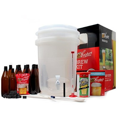 Coopers DIY Home Brewing 6 Gallon Craft Beer Making Kit by Coopers