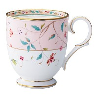 Noritake ボーンチャイナ 花更紗 マグ(ピンク) T50755A/4409-5