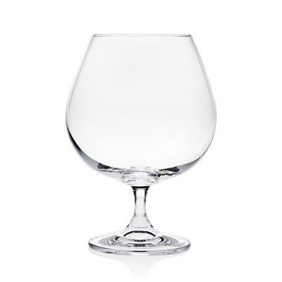 Godinger Meridian S / 4 23oz ) Brandy Glass