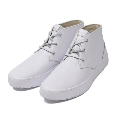【SPERRY TOPSIDER】 スペリートップサイダー ENDEAVOR CHUKKA LEATHER エンデバー チャッカ レザー STS16615 WHITE