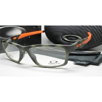 OAKLEY オークリー 眼鏡フレーム 0OX8090 CROSSLINK MNP 809007 Matt Green Tort