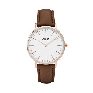 CLUSE CL18010 ROSE GOLD WHITE/BROWN WATCHES LA BOHEME レディース 腕時計 プレゼント 時計 クルース