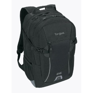 Targus ターガス 16 Sport 26L Backpack Black TSB75803AP