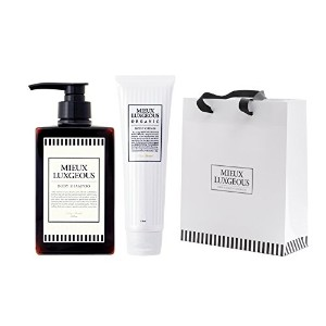 MIEUX LUXGEOUS ボディケアセット with Paper bag(Body Cream & Body shampoo & Paper bag)