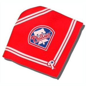 Sporty K9 MLB Philadelphia Phillies Dog Bandana, Large by Sporty K9