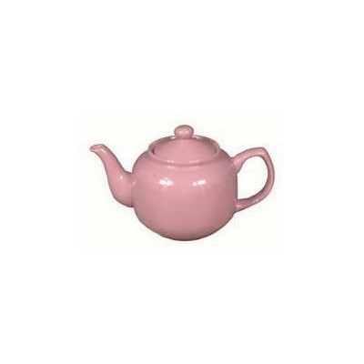 Pink Rose Classic 2 Cup Ceramic Teapot by BigKitchen