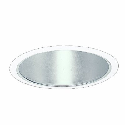 Halo Recessed 470H 6-Inch for Compact Fluorescent White Trim with Haze Reflector by Halo Recessed