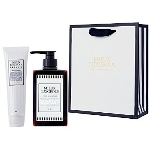 MIEUX LUXGEOUS ボディケアセット with Paper bag02(Body Cream & Body shampoo & Paper bag02)