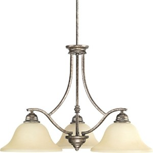 "Progress Lighting p4559 Spiritシャンデリアwith 3ライト – 27 "" Wide、 944559144 1"