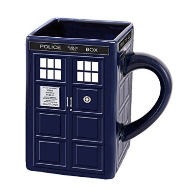 (Doctor Who) - Vandor Doctor Who Tardis Ceramic Sculpted Mug (16101)