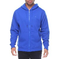 チャンピオン メンズ トップス パーカー【powerblend basic full zip fleece hood w small】Blue