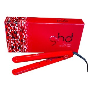 GHD Red Gloss Styler, Classic, Red, 1 Inch スタイリッシュアイロン 並行輸入品