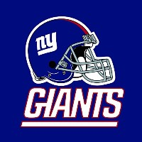 Creative Converting 16Count新しいYork Giants Lunch Napkins
