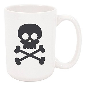 High TideマグカップSkull and Bones Halloween Mug , Large