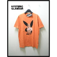 L ORENGE【HYSTERIC GLAMOUR ヒステリックグラマー PLAYBOY `SEPTEMBER'69 COVER'Tシャツ】1242CT02【新品】