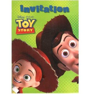 Toy Story 3 Party Invitations [ 8 perパック]