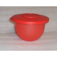 Tupperware Impressions Bowl Small 2 1 / 2カップMini Mixing ServingストレージWatermelon