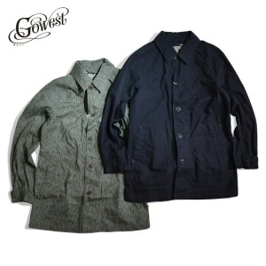 GOWEST(ゴーウエスト)BUFFALLOW SPRING COAT Sulfide Dyed / Rain Drop Camo / アウター / コート