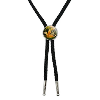 Tiger Swallowtail Butterfly Western SouthwestカウボーイネクタイBow Bolo Tie