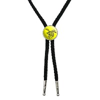 Bee Wasp Hornet Western SouthwestカウボーイネクタイBow Bolo Tie