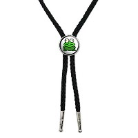 Frog Toad Western SouthwestカウボーイネクタイBow Bolo Tie