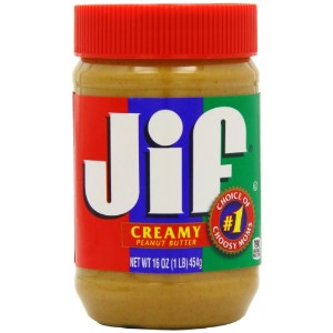 JIF Peanut Butter Creamy 454 g (Pack of 3)