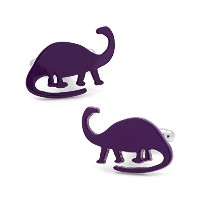Athena Dinosaur Brachiosaurus Cuff Links inギフトボックス