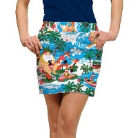 LoudMouth Ladies Surfin Santa Skort【ゴルフ レディース>スコート】