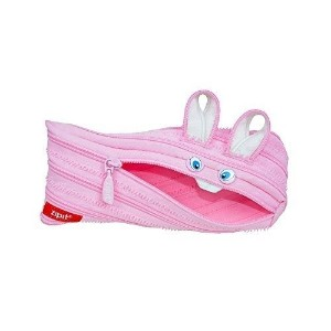 Zipit Animals Pencil Case, Bunny (ZTM-AN-BY) by ZIPIT USA INC. [並行輸入品]