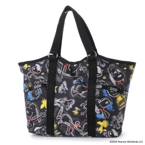 【SALE 30%OFF】レスポートサック LeSportsac SMALL CARRYALL (CHALKBOARD SNOOPY) レディース