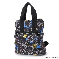 【SALE 30%OFF】レスポートサック LeSportsac EVERYDAY BACKPACK (CHALKBOARD SNOOPY) レディース