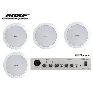 BOSE ( ボーズ ) DS16FW (4SP) 天井埋込セット(SRA-5050A) ◆ セット内容・DS16FWx4 ・SRA5050Ax1 [ DS series ][ 送料無料 ]