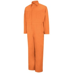 RED KAP レッドキャップ CT10OR TWILL ACTION BACK COVERALL -ORANGE-