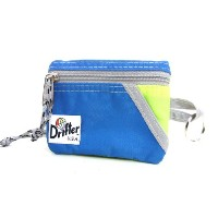 [ドリフター]Drifter 230 Key Coin Pouch 70 Slate Blue x FL Yellow