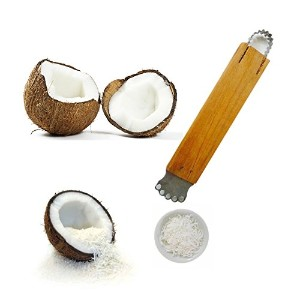 Mangos Teen. Hand Grater Thai Tools Kitchen Coconut Dessert Tools Style Frash Scraper DIY remove...