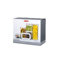 Rosti Mepal Modula Starter Set of 5 Food Storage Boxes by Rosti Mepal